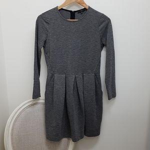 Aritzia Talula pleated dress